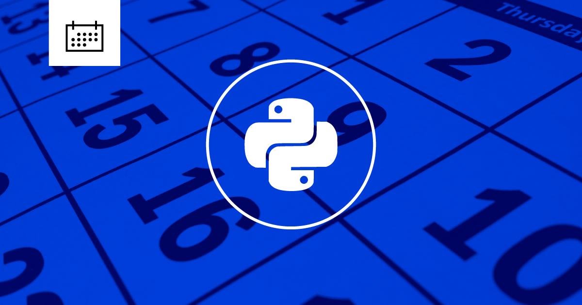 Python Calendar Create