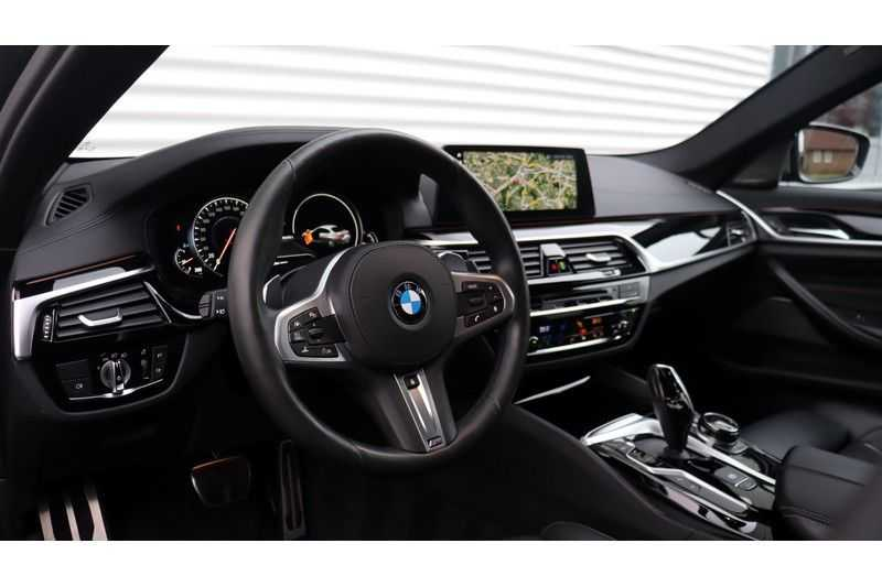 BMW 5 Serie M550i xDrive High Executive Head- Up Display, Schuifdak, Harman/Kardon afbeelding 5