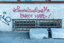Apparently U don't know me so well?  Bucharest, Romania, 2017