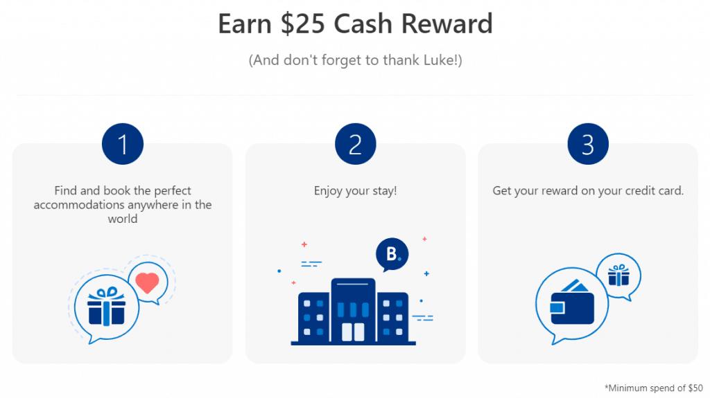 25$ Cash reward