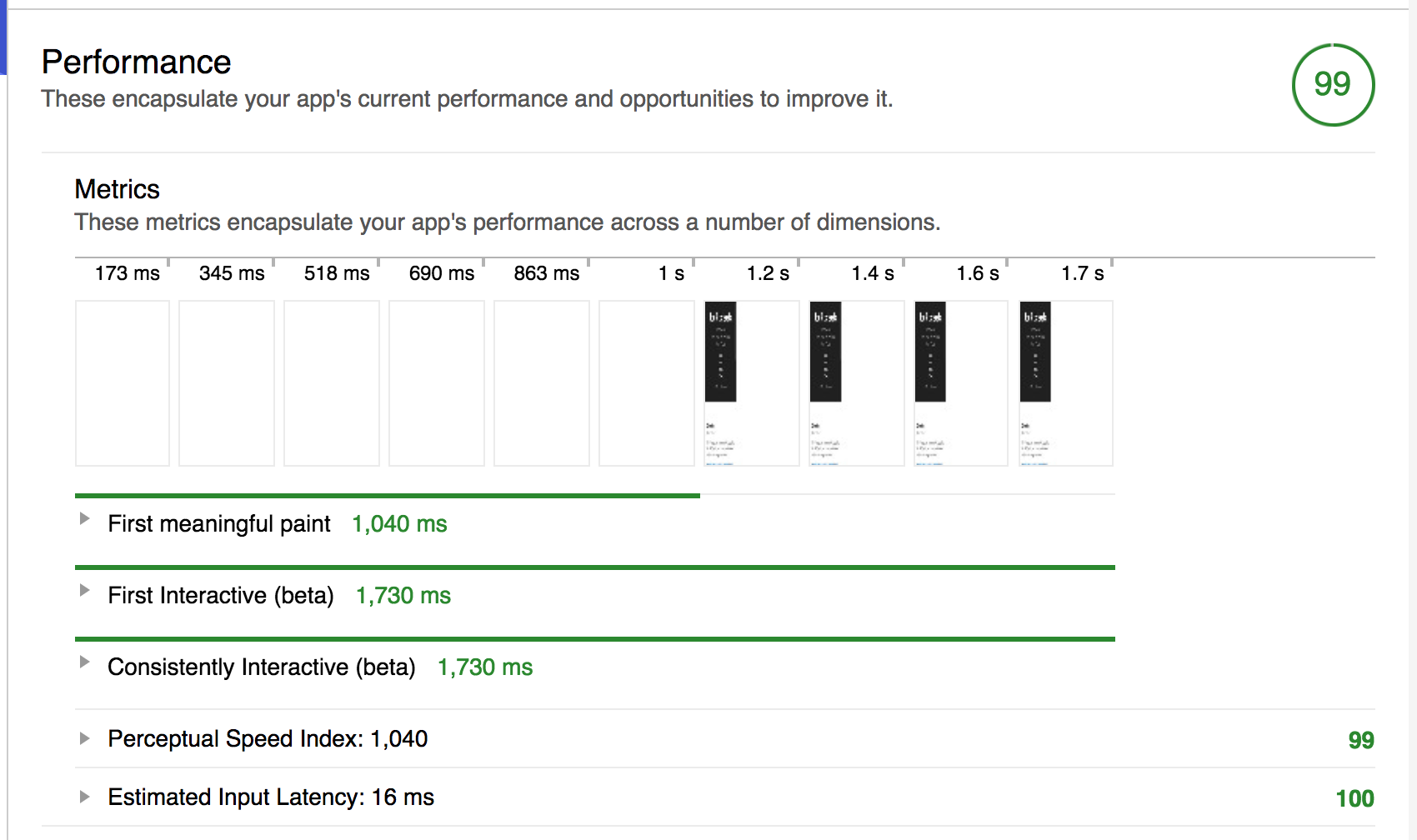 performance lighthouse - asset optimization