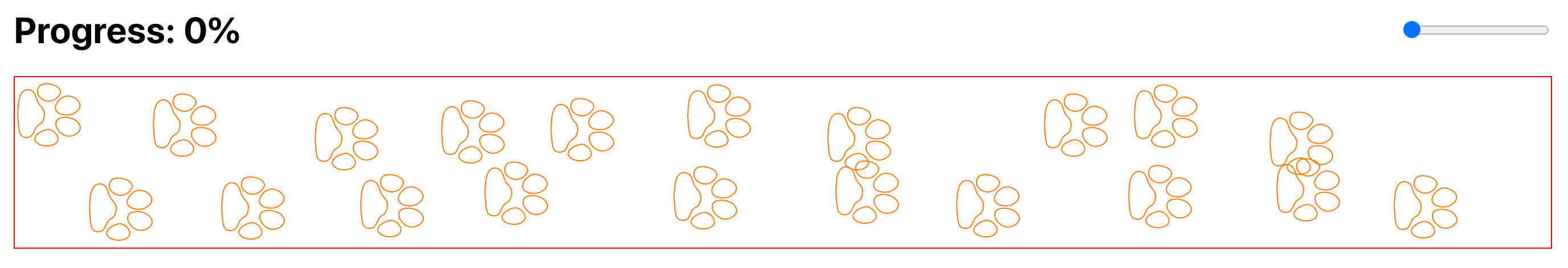 randomize paws y axes