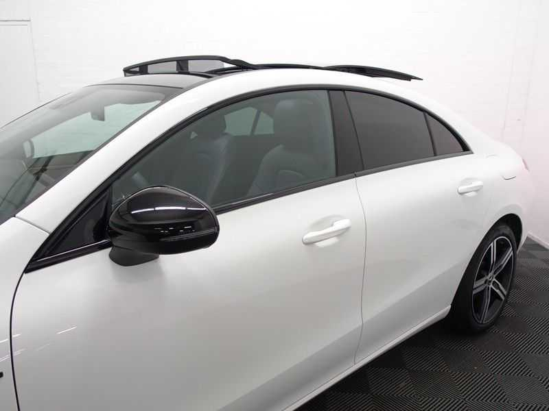 Mercedes-Benz CLA-Klasse AMG Night Edition Autom- Panodak, MBUX Widescreen, Leer, 2dkm! afbeelding 24