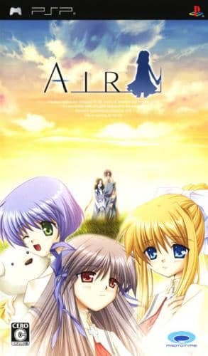 Coverart image of AIR psp