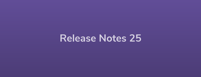 Esper Release Notes — DevRel 25