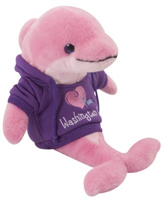 "The Petting Zoo: 8"" Hoodie Dolphin"
