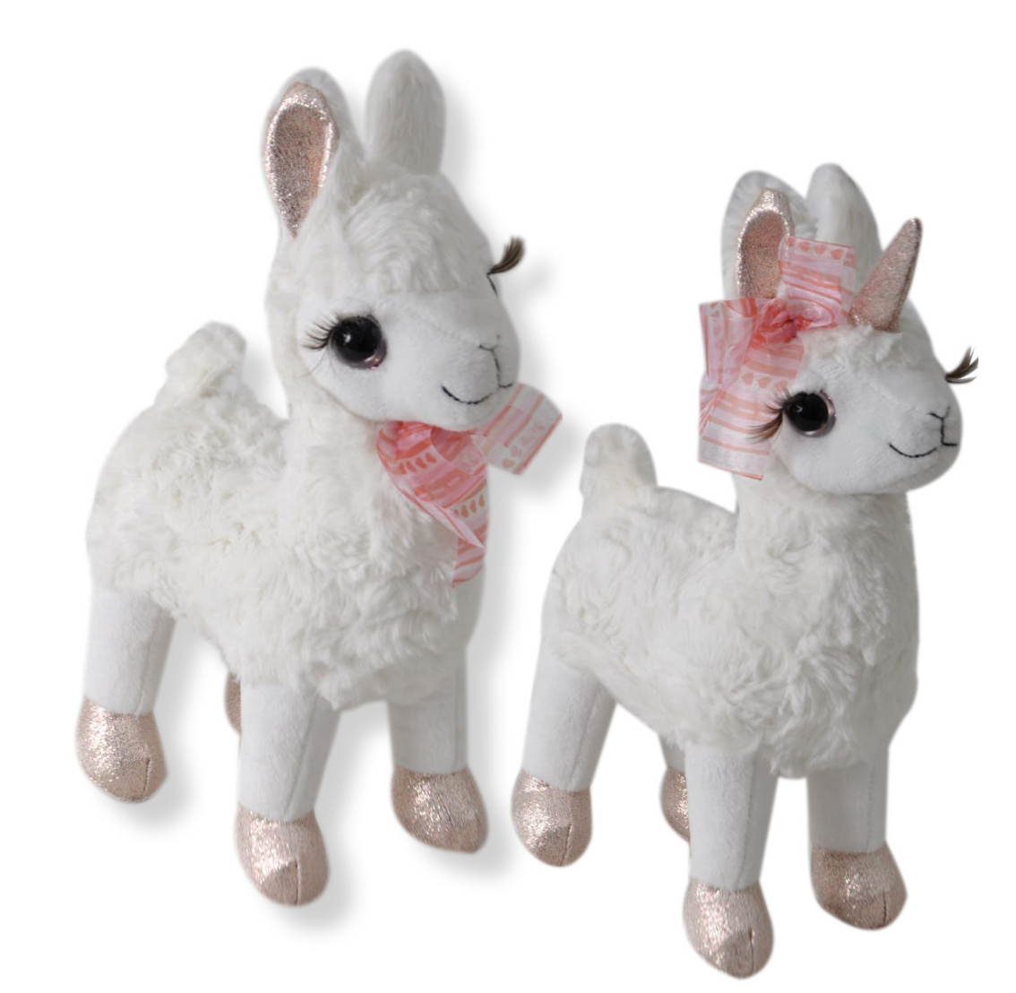 "The Petting Zoo: 10"" Valentine Llamacorn & Llama"