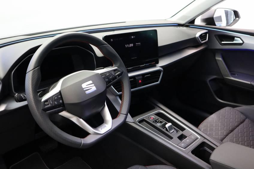 SEAT Leon 1.4 TSI eHybrid PHEV FR Tech Navigatie Clima Cruise PDC 18`LM 204PK! Direct leverbaar! afbeelding 10