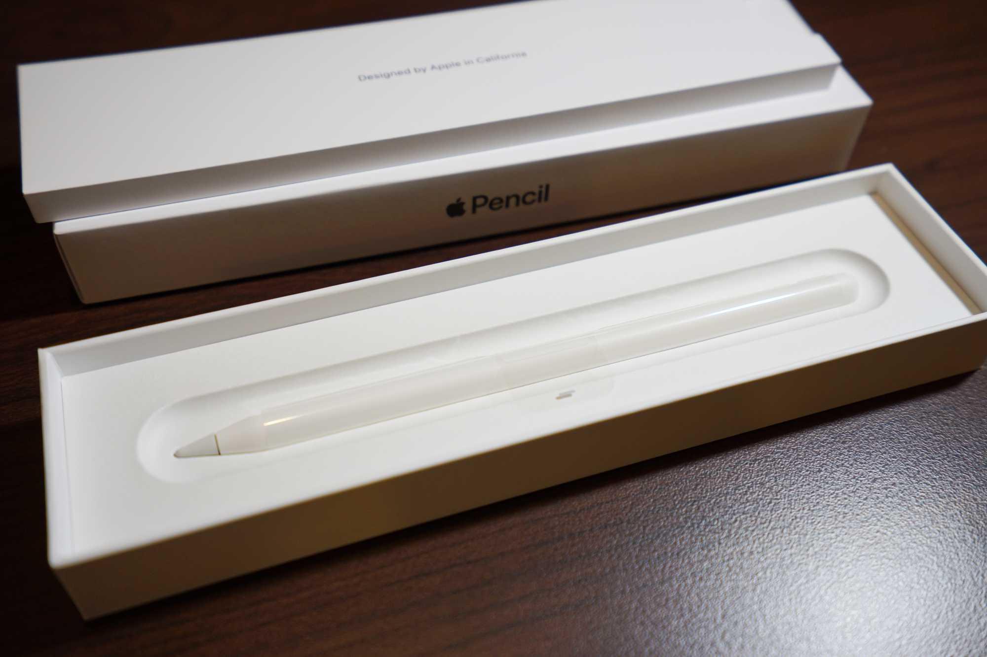 Apple Pencil in the box
