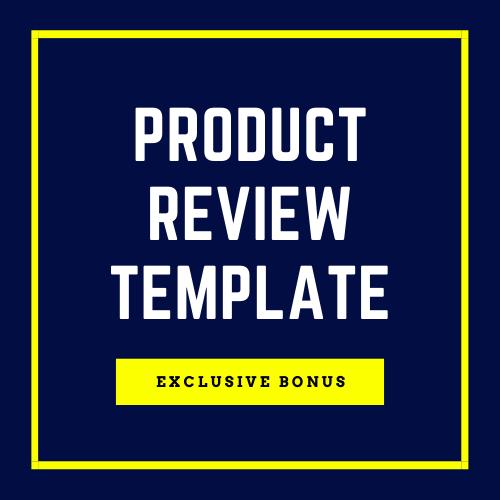 Bonus: Product Review Template