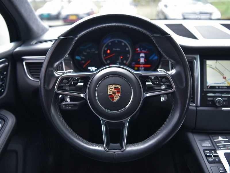 Porsche Macan 3.6 Turbo PDK 400pk Lucht Carbon Pano Zetels-18-weg Alcant.hemel Led Leder-dash afbeelding 14