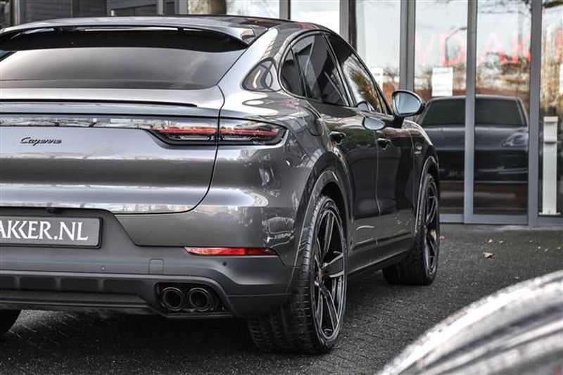 Porsche Cayenne E-HYBRID COUPE 22INCH+LUCHTV.+BURMESTER+ACC afbeelding 17