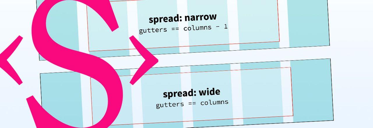Narrow and wide spread column math