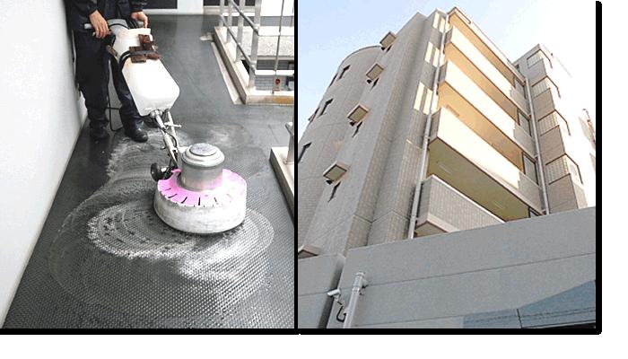 新東京ビルサービス|マンション清掃例