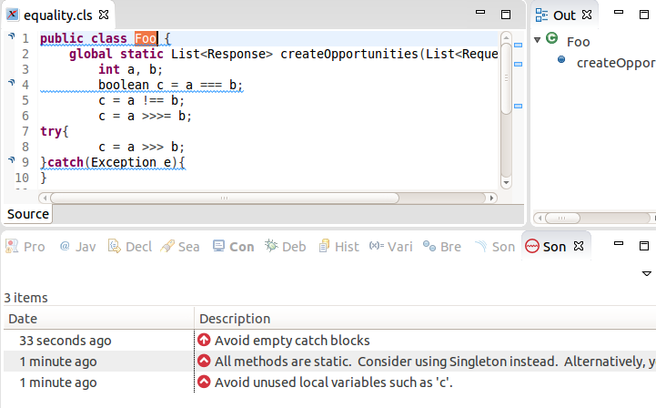 Using an CodeScan with IDE Plugins