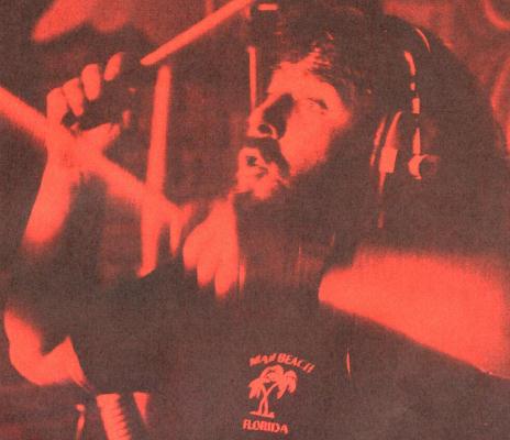 Lee Kerslake recording in 1980