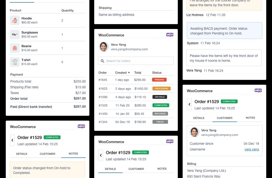 WooCommerce integration for Zendesk Support