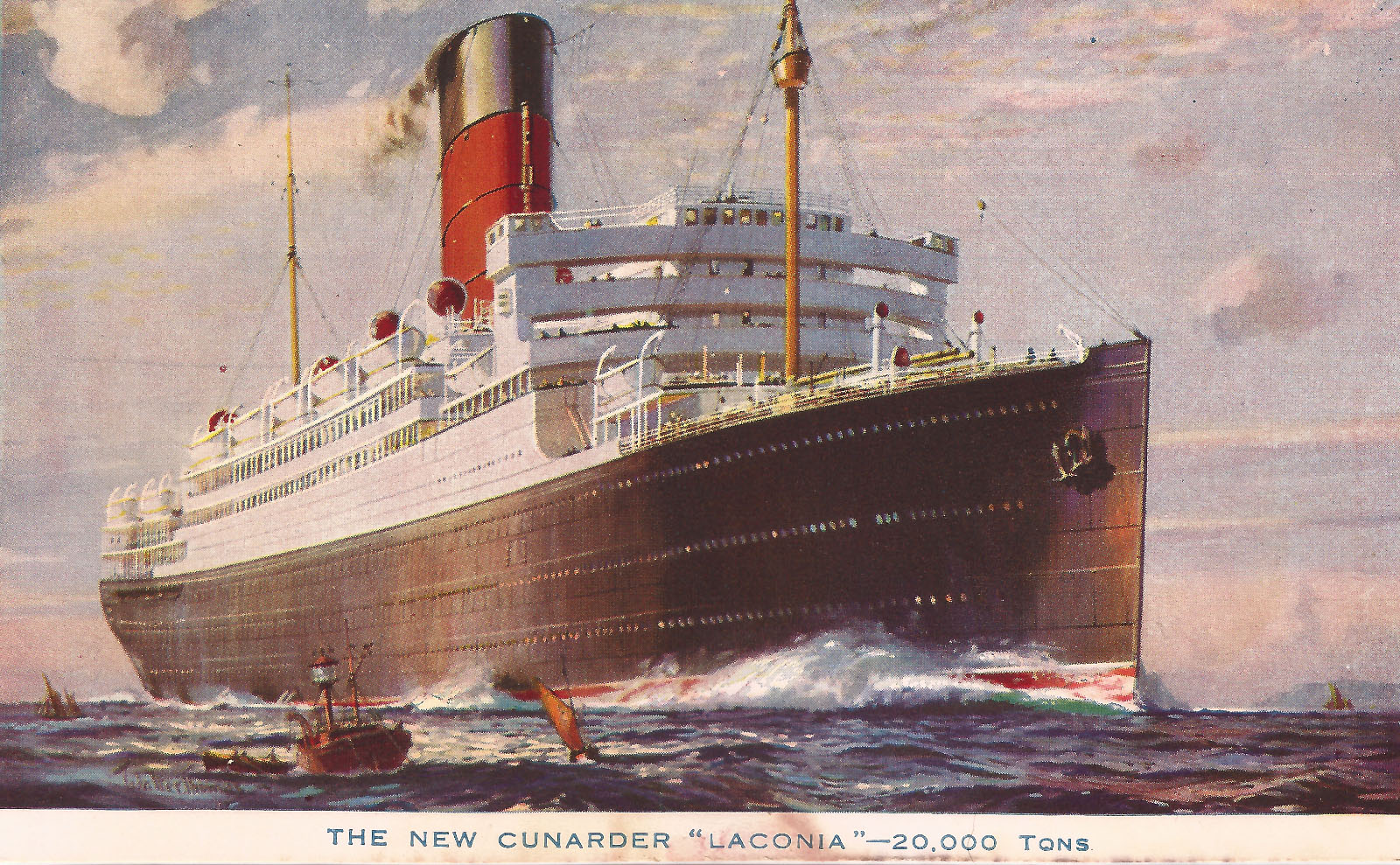 Cruising Around the World on Cunard's Luxury Liner RMS Laconia