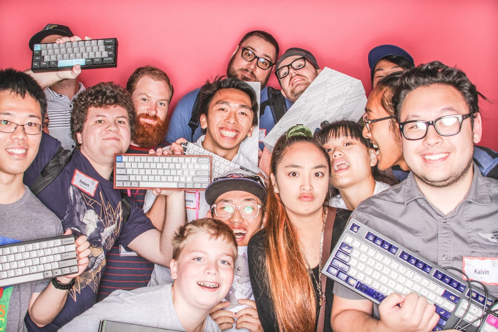 Seattle Mechanical Keyboard Photo Booth July 2017