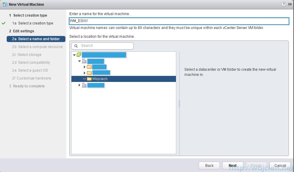 VMware ESXi 6.0 as nested virtual machine - Name virtual machine