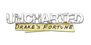 Uncharted: Drake's Fortune Wallpaper logo
