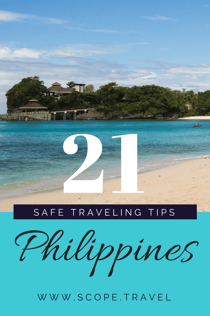 Staying safe in the Philippines