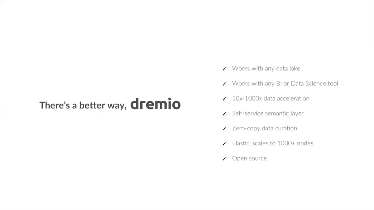 Building an Analytics Stack on AWS with Dremio