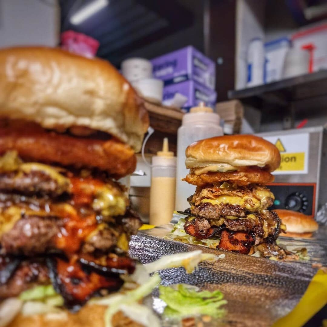 Burgers from Big Buns Leeds