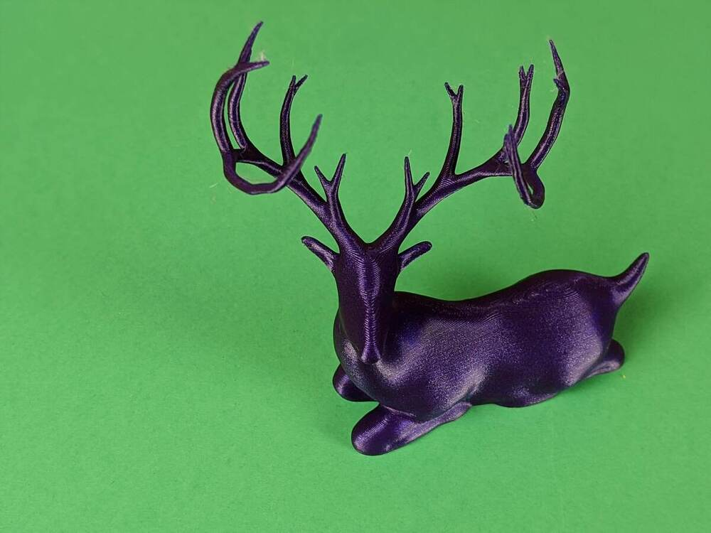 Laying Christmas Deer - Ender 3