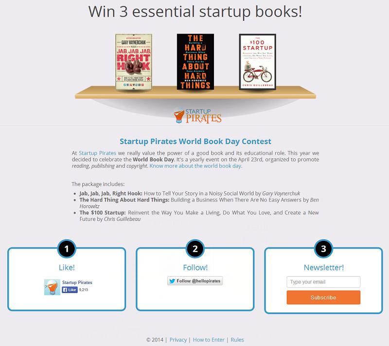 Win 3 essential startup books! - worldbookday_startuppirates_org
