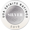 2018 USA Spirits Ratings Silver award