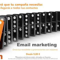 aprovecha de todas las ventajas del email marketing