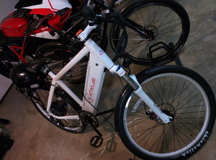 Electric bike Build Picture
