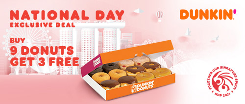 >Dunkin' Donuts Singapore