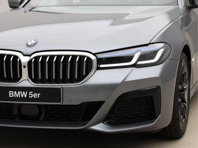 BMW 5 Serie 530i High Exe M-Sport LCI afbeelding 15