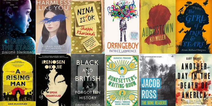 Books on the Jhalak Prize longlist