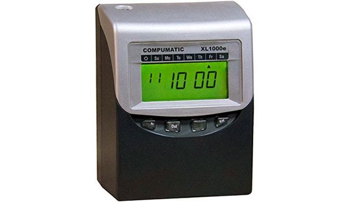 XL1000E Calculating Time Clock
