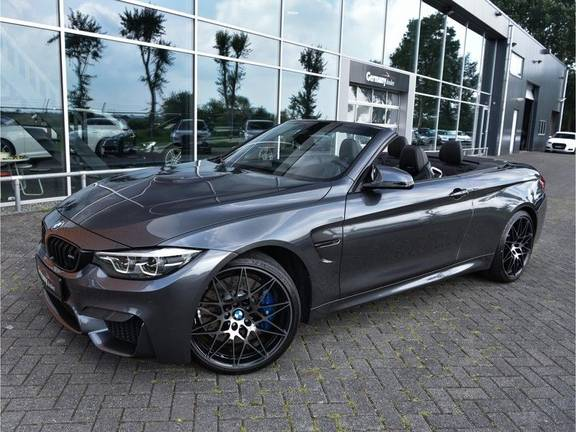 BMW M4 Cabrio Competition DCT 450pk HUD H/K DAB Adaptive-LED Memory 20inch
