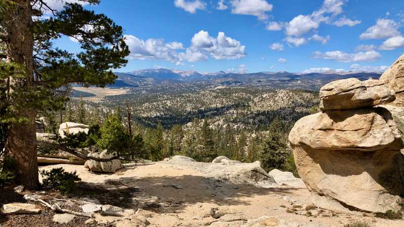 A view across Golden Trout Wilderness