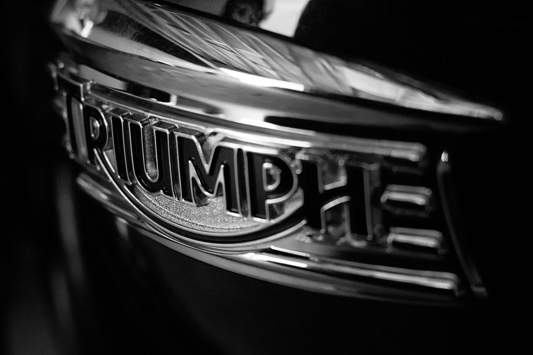Triumph Badge