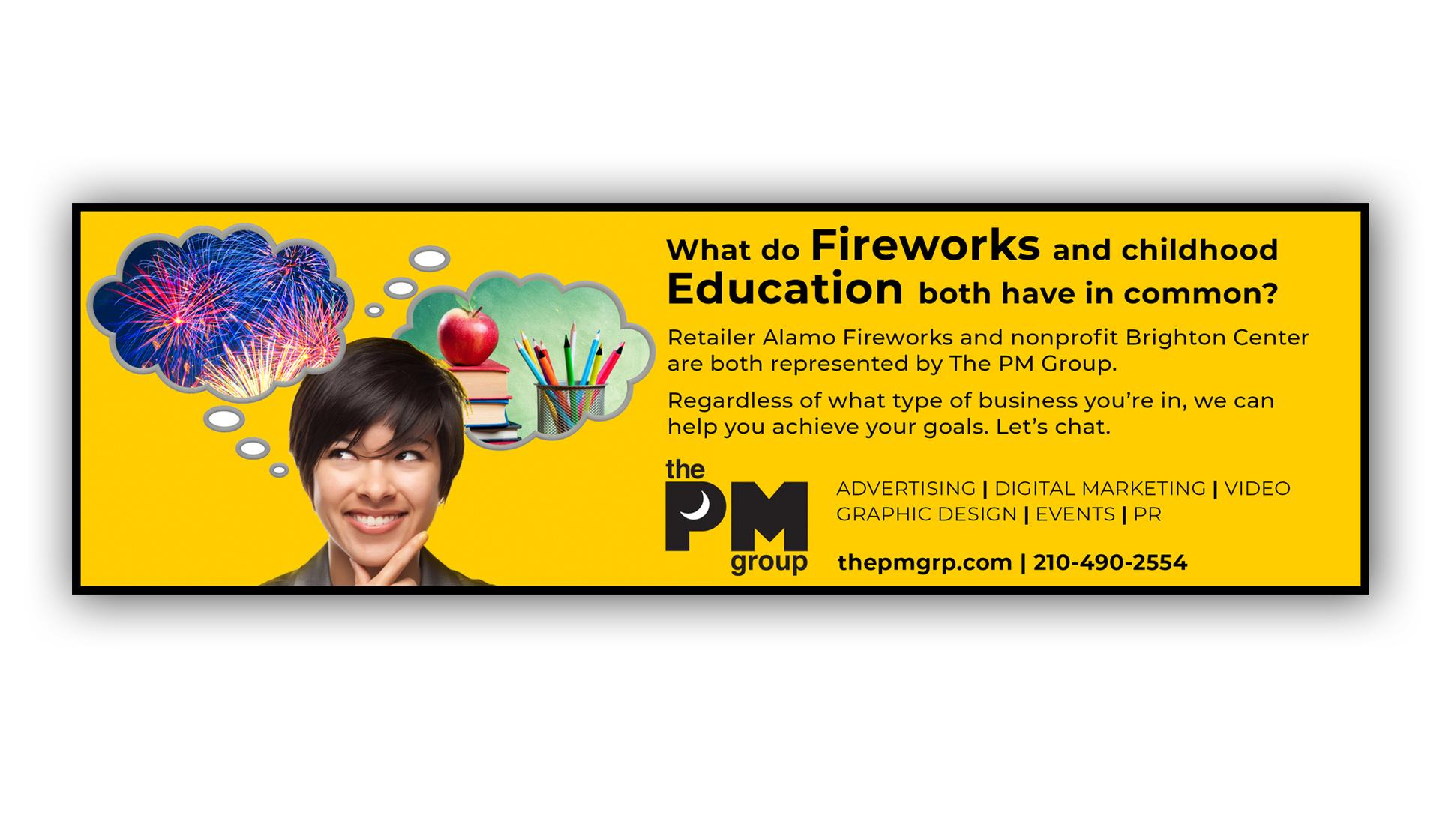 PMG Education Ad