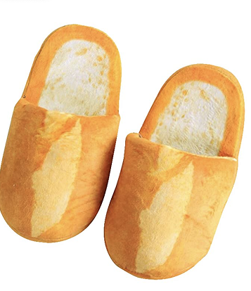 One pair of bread slippers.