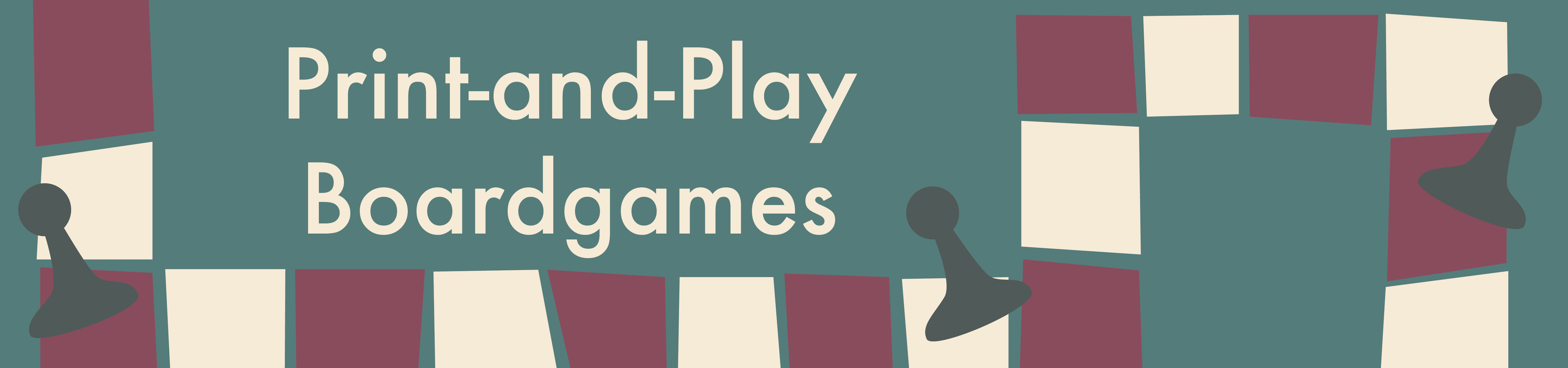 Print-and-Play Boardgames header