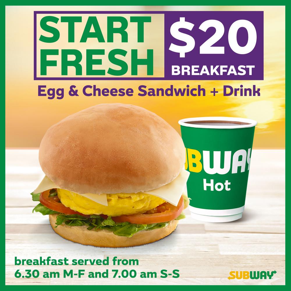 Start Fresh $20 Breakfast