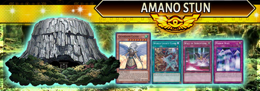 Amano Stun Breakdown | YuGiOh! Duel Links Meta