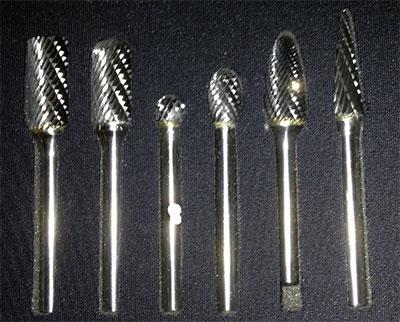 1/2 inch carbide burr set