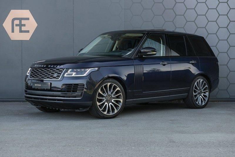 Land Rover Range Rover 5.0 V8 SC Autobiography Portofino Blue + Verwarmde, Gekoelde voorstoelen met Massage Functie + Adaptive Cruise Control + Head Up afbeelding 1