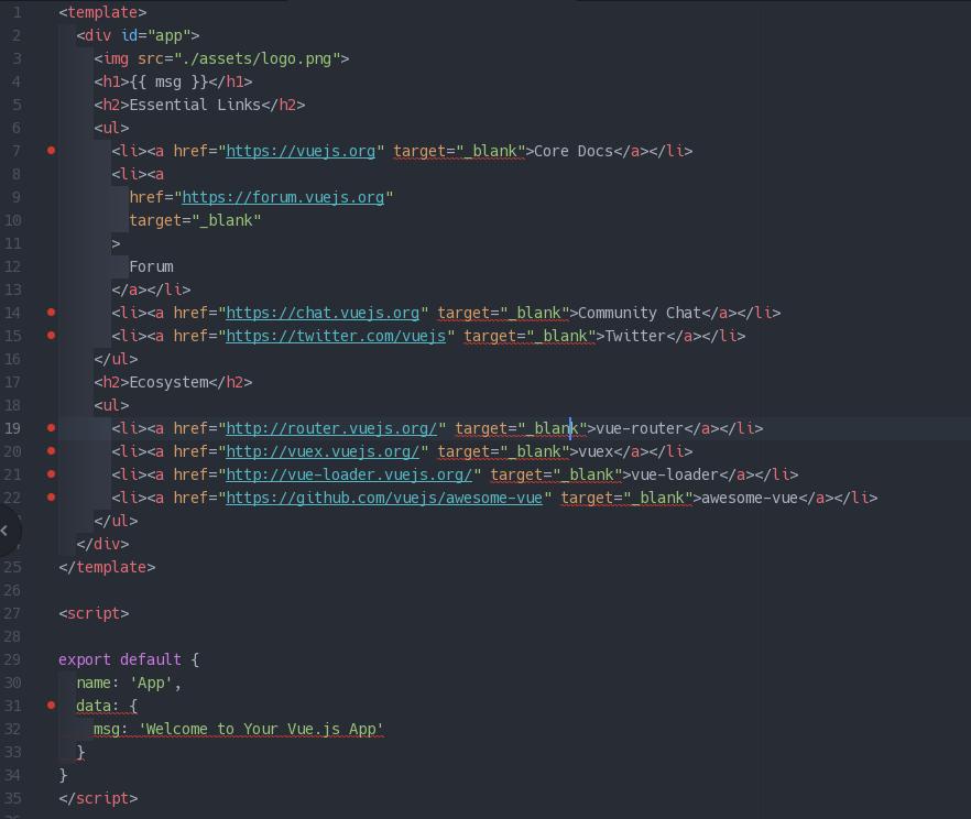 Linting Vue js Components with eslint-plugin-vue ← Alligator io