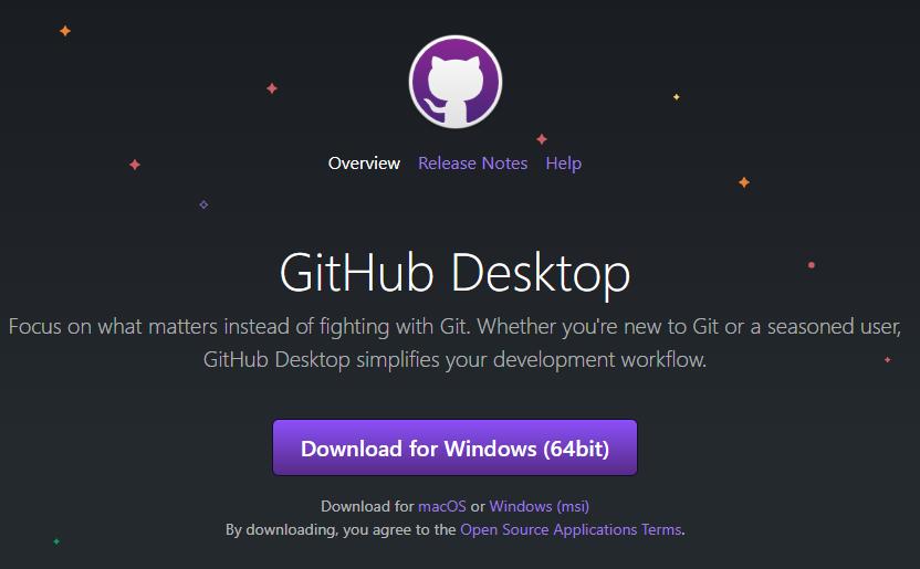 GitHub Desktop Install Link