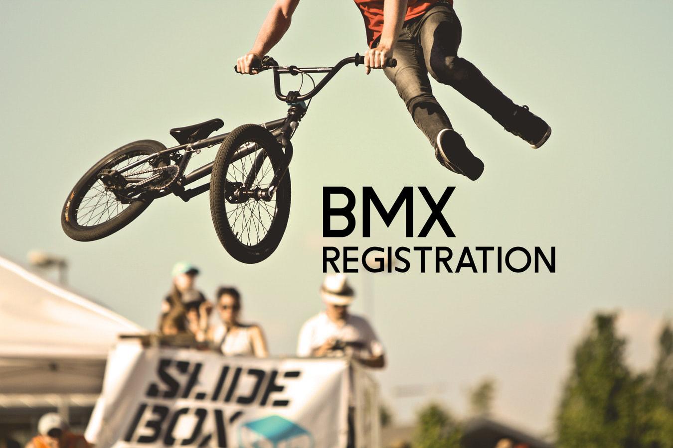 BMX Registration